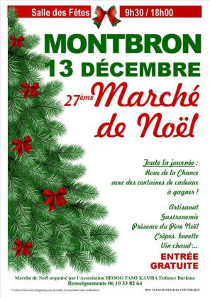 Marché de Noël de Montbron