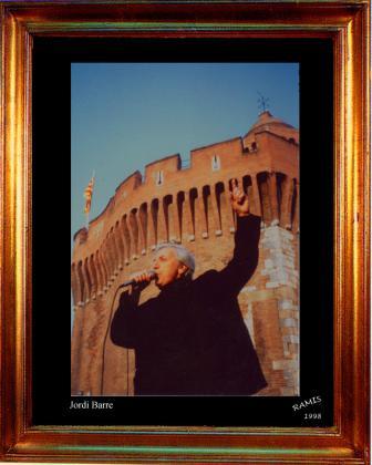 Portrait du chanteur catalan Jordi Barre