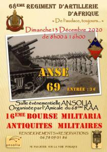 Bourse militaria, antiquites militaires - Anse