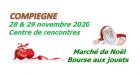 Marche de Noel et Bourse aux jouets de Compiègne