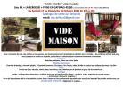 VENTE PRIVÉE / VIDE MAISON LE 17/18 Octobre Loiret/Yonne