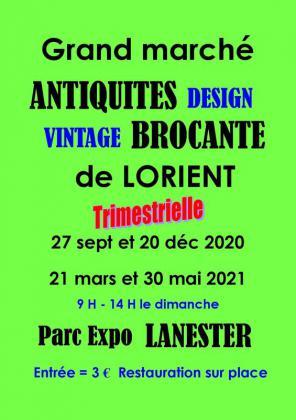 Grand marché Antiquités Brocante de Lanester
