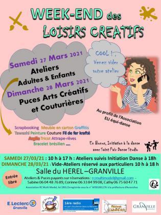 Puces Arts Créatifs et Couturières de Granville