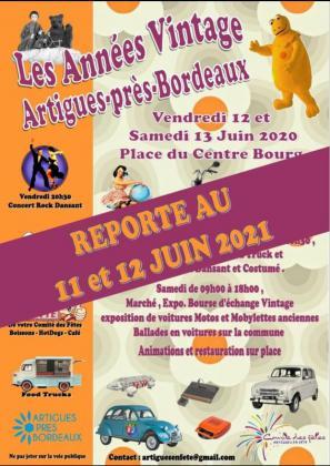 Les Années Vintage - Bourse d'échanges - Artigues-près-Bordeaux