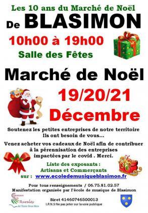 Marché de Noël de Blasimon