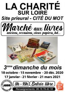 Marché aux livres anciens de La Charité-sur-Loire