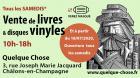 Vente de Livres et Vinyles de Châlons-en-Champagne