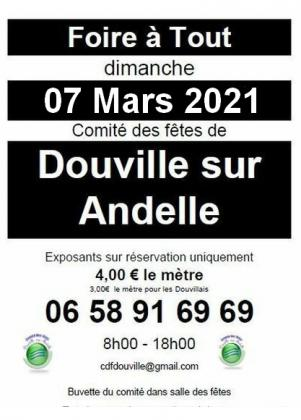 Foire a tout de Douville-sur-Andelle