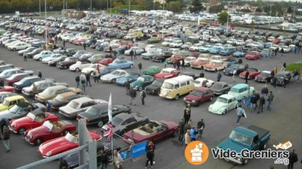 Expo voitures anciennes et stands voitures miniatures de Perpignan