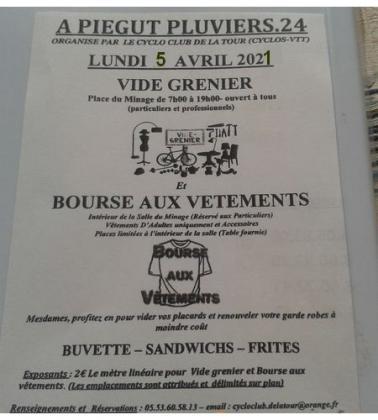 Vide-Greniers de Piégut-Pluviers