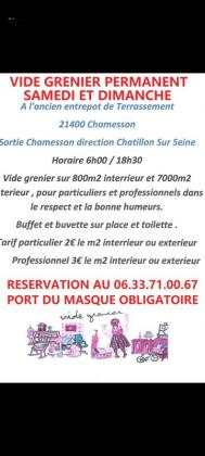 Vide-greniers de Marigny-le-Cahouët