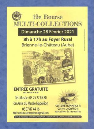 Bourse multi-collections de Brienne-le-Château