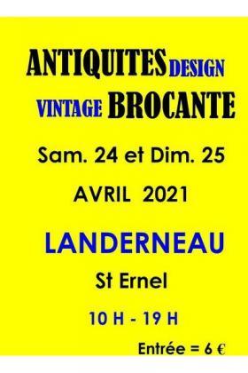 Salon Antiquités Design Brocante Vintage de Landerneau