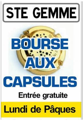 Bourse aux capsules de Sainte-Gemme