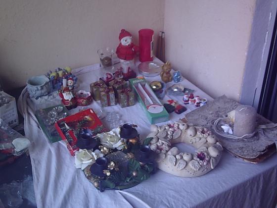 Bougies + bougeoirs décor Noël