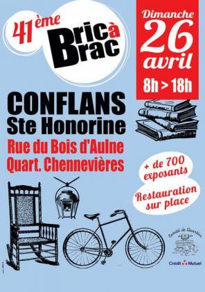 Bric a brac de Conflans-Sainte-Honorine