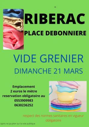 Vide-greniers de Ribérac