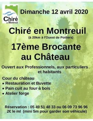 Brocante Vide-Greniers de Chiré-en-Montreuil
