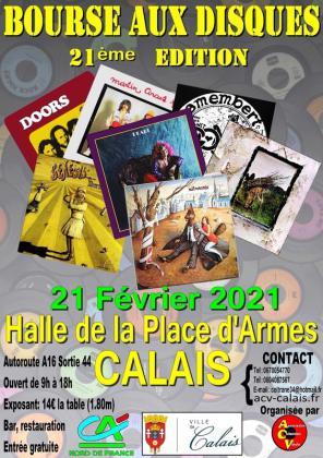 Bourse aux disques de Calais