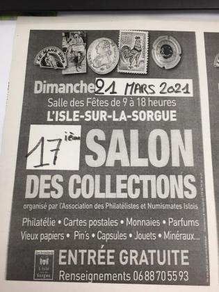 Salon des collections de L'Isle-sur-la-Sorgue