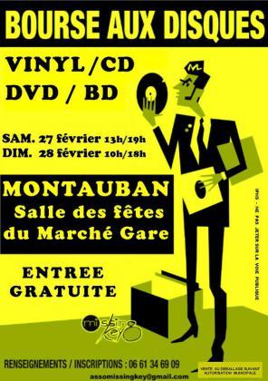 Bourse aux Disques Vinyl, CD, DVD, BD de Montauban