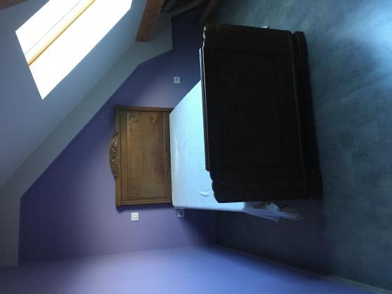 chambre à coucher ancienne complète