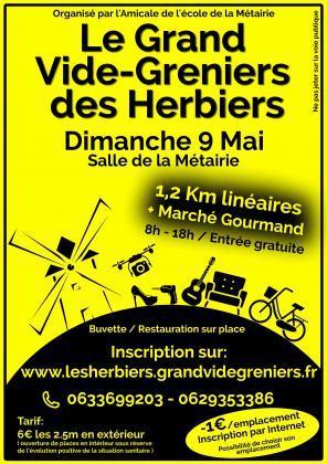 LE GRAND VIDE-GRENIERS DES HERBIERS