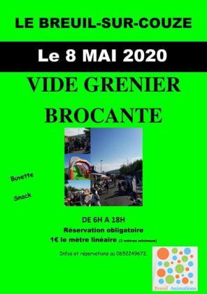 Brocante Vide-Greniers - Le Breuil-sur-Couze