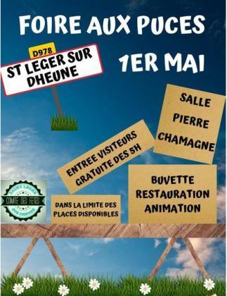 Foire aux puces de Saint-Léger-sur-Dheune