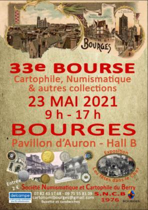Bourse Cartophile et Numismatique de Bourges