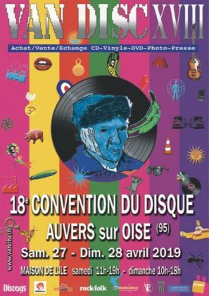 Convention Internationale du Disque et CD - Auvers-sur-Oise