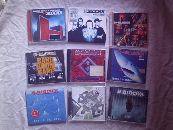 CD et DVD de H-BLOCKX
