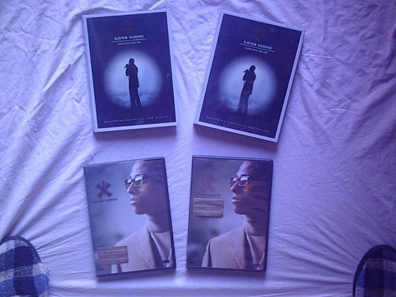 CD et DVD du chanteur allemand XAVIER NAIDOO