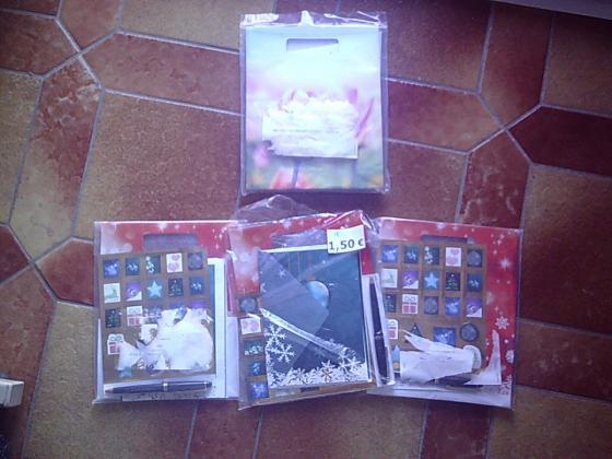 Kits de Correspondance/Papeterie de Noël et Fêtes