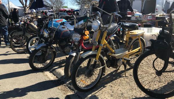 Bourse motos et mobylettes de Fontanes