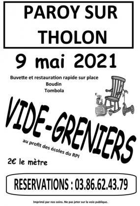 Vide-Greniers de Paroy-sur-Tholon