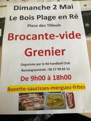 Brocante - Vide-Greniers - Le Bois-Plage-en-Ré