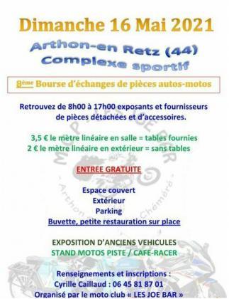 Bourse d'echange de pieces auto et moto de Chaumes-en-Retz