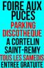 Foire aux puces et brocante de Saint-Rémy
