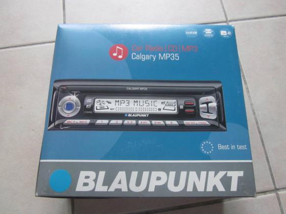 AUTO-RADIO + PAIRE HP BLAUKPUNT