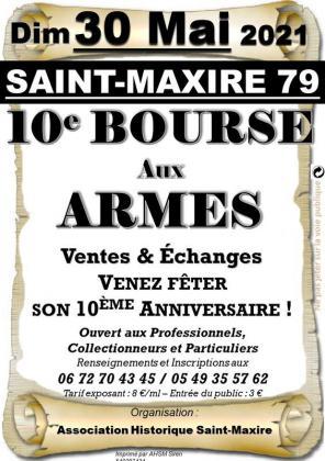 Bourse aux armes de Saint-Maxire