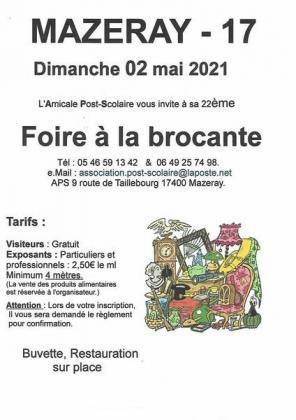 Brocante - Vide-Greniers de Mazeray