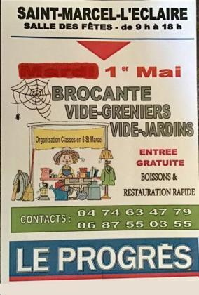 Brocante - Vide-Greniers de Saint-Marcel-l'Éclairé