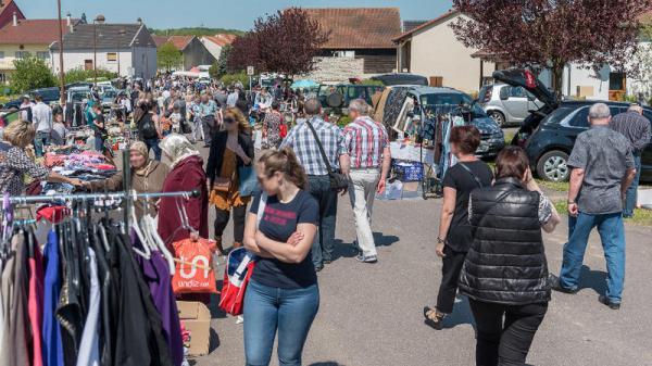 Marché aux puces de Teting-sur-Nied