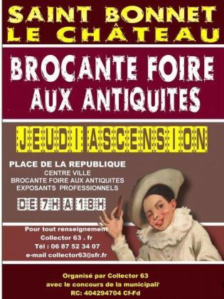 Foire à la brocante et aux antiquités de Saint-Bonnet-le-Château