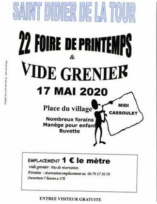 Vide-Greniers de Saint-Didier-de-la-Tour