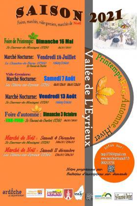Foire aux plants, graines, fleurs de Saint-Sauveur-de-Montagut