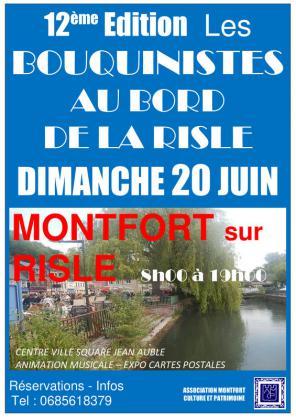 Les Bouquinistes au Bord du Risle - Montfort-sur-Risle