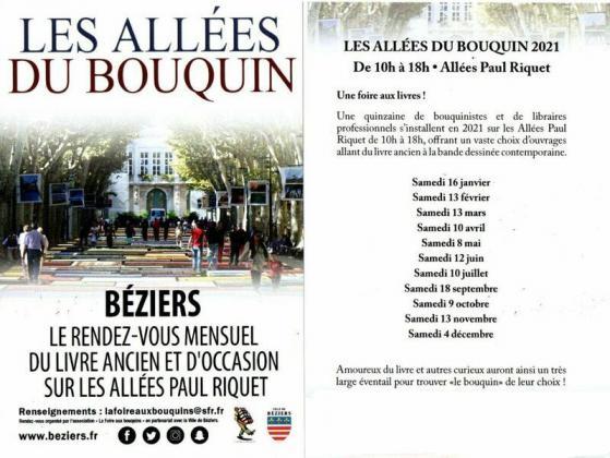 Les Allées du Bouquin de Béziers