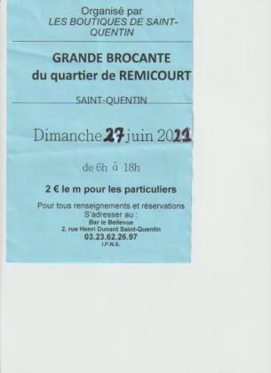 Brocante Vide-Greniers de Saint-Quentin